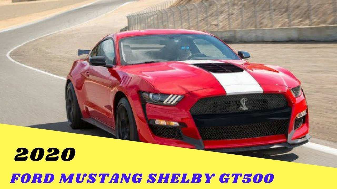 67 Best Price Of 2020 Ford Mustang Gt500 Release