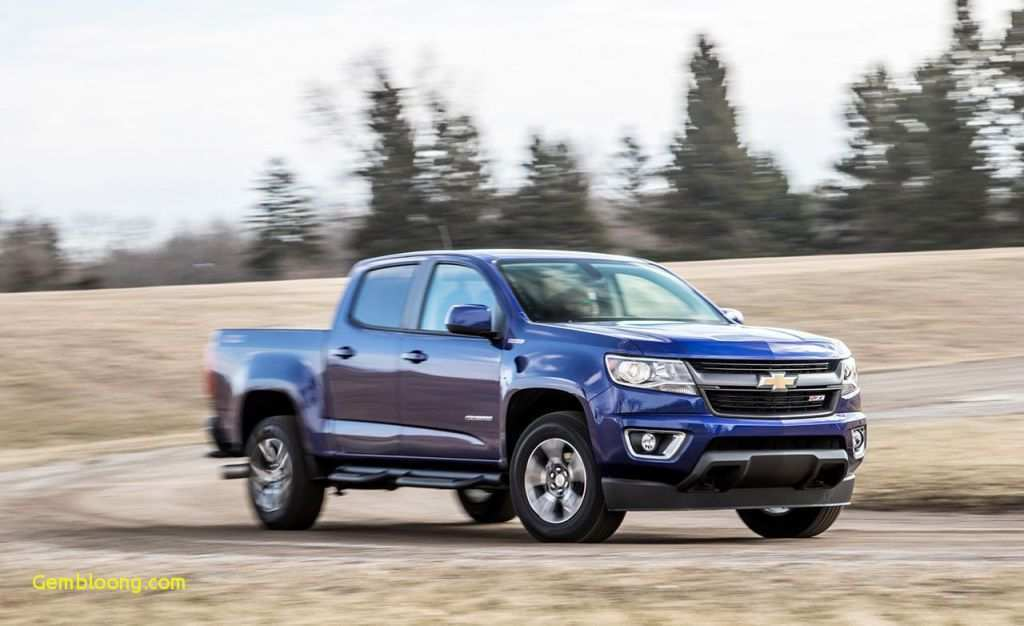 67 The 2019 Chevy Colorado Going Launched Soon Redesign