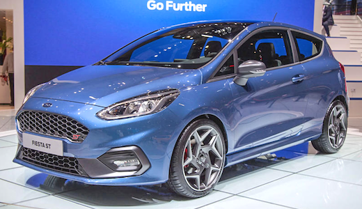 67 The 2019 Ford Fiesta St Rs Exterior