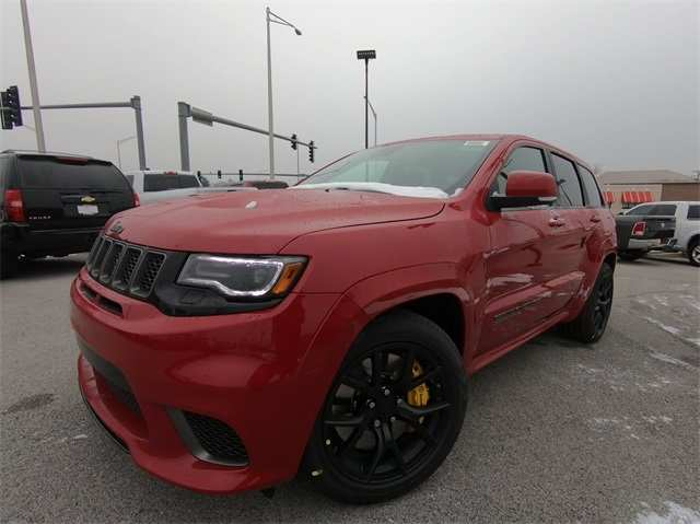 67 The 2019 Jeep Grand Cherokee Trackhawk Performance