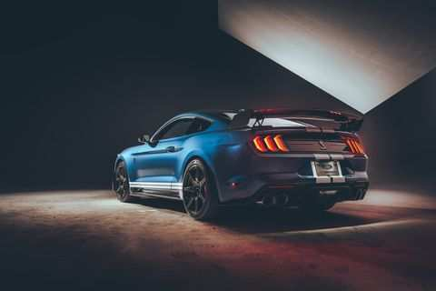 67 The 2020 Ford GT350 Interior