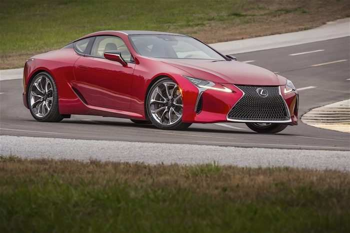 67 The 2020 Lexus Lf Lc Model