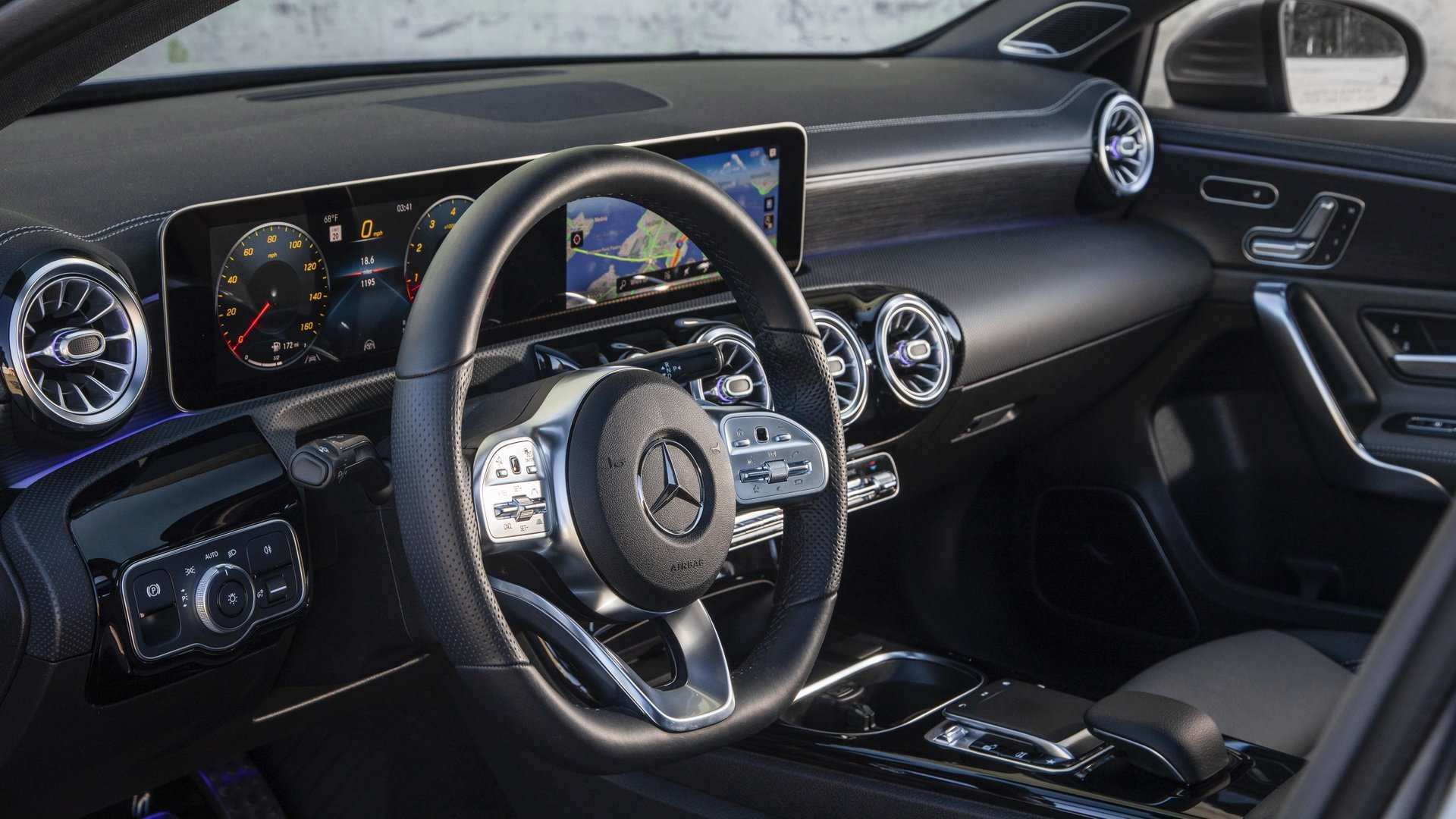 67 The Mercedes A Class 2019 Interior Specs And Review