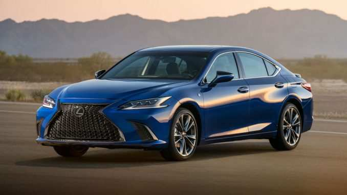 68 All New Es 350 Lexus 2019 Speed Test