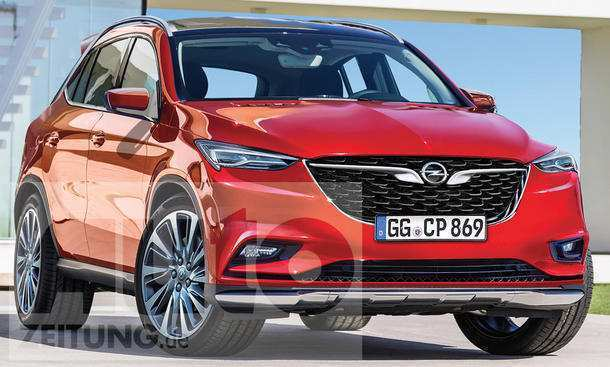 68 All New Opel Zafira Modell 2020 Model