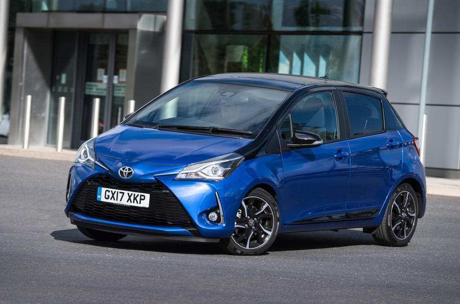 68 All New Toyota Yaris 2019 Europe Spy Shoot