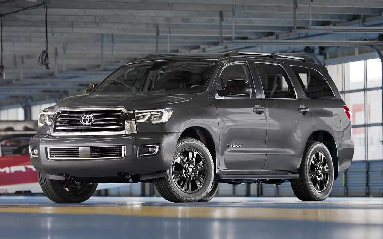 68 New 2019 Toyota Sequoia Redesign New Concept