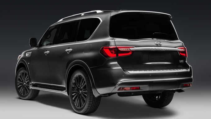 68 New Infiniti Qx80 New Model 2020 Spy Shoot