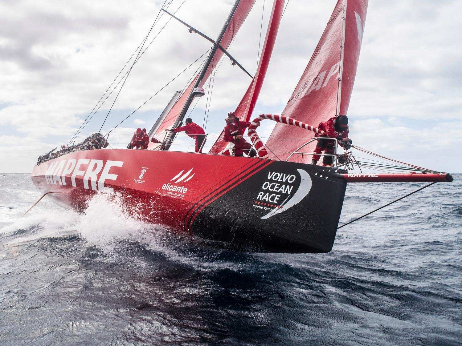 68 New Volvo Ocean Race 2019 First Drive