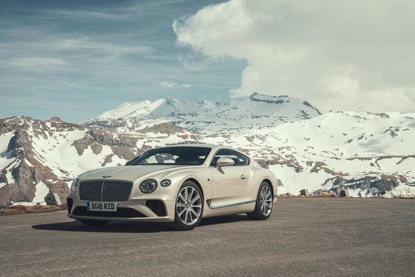 68 The 2019 Bentley Continental GT First Drive