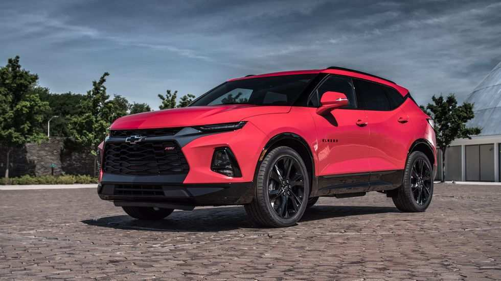 68 The 2019 The Chevy Blazer Redesign
