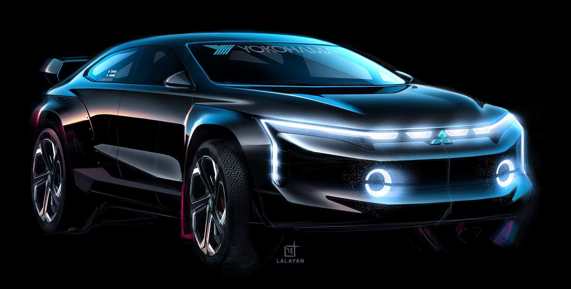 68 The 2020 Mitsubishi Lineup Redesign