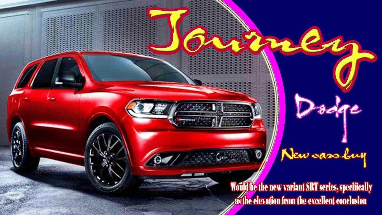 68 The Best 2020 Dodge Journey Srt Redesign And Review