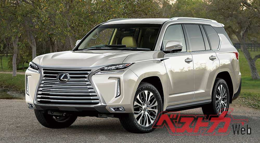68 The Lexus Lx 570 Review 2020 Style