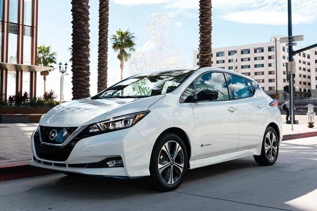 68 The Nissan Leaf 2019 Review Exterior