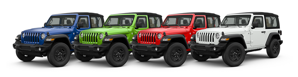 69 A 2019 Jeep Jl Colors Spy Shoot