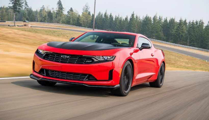 69 A 2020 Chevy Camaro Competition Arrival Spy Shoot