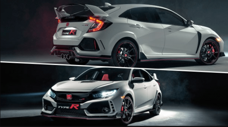 69 A 2020 Honda Civic Type R Configurations