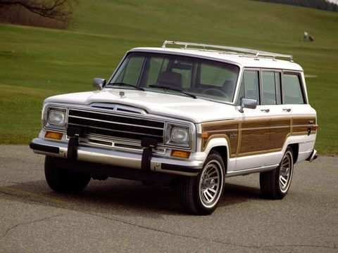 69 A 2020 Jeep Wagoneer First Drive