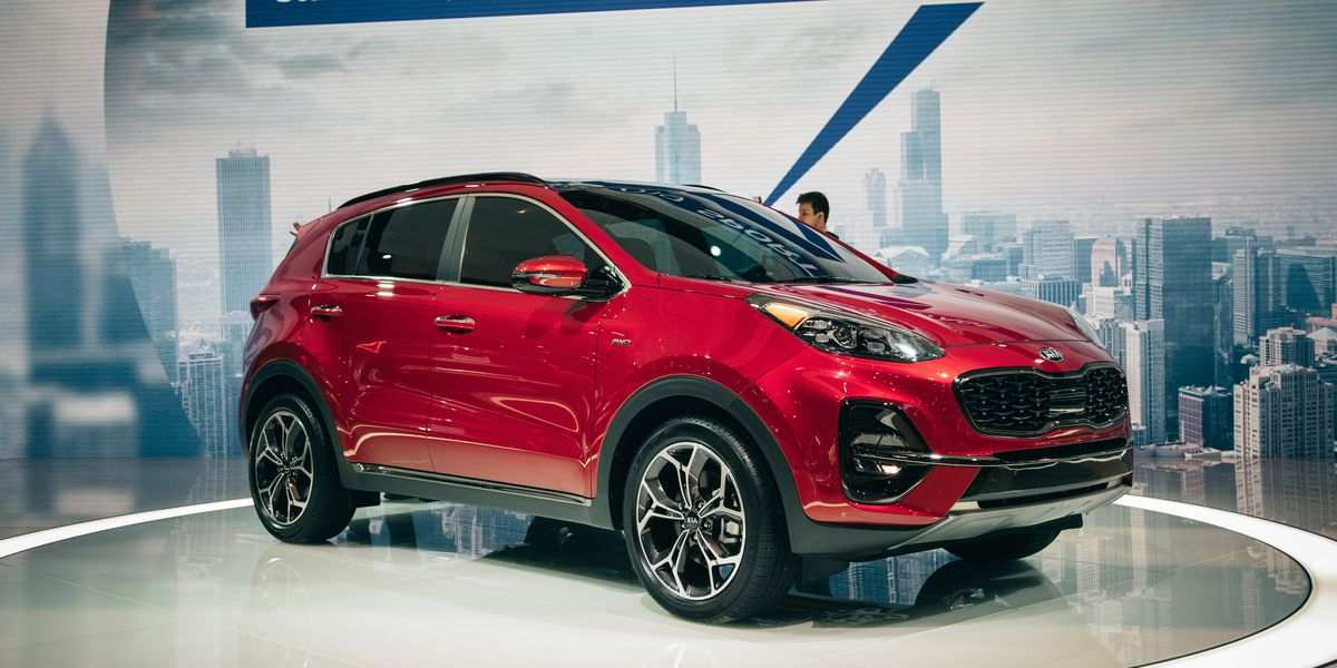 69 A 2020 Kia Sportage Review Interior