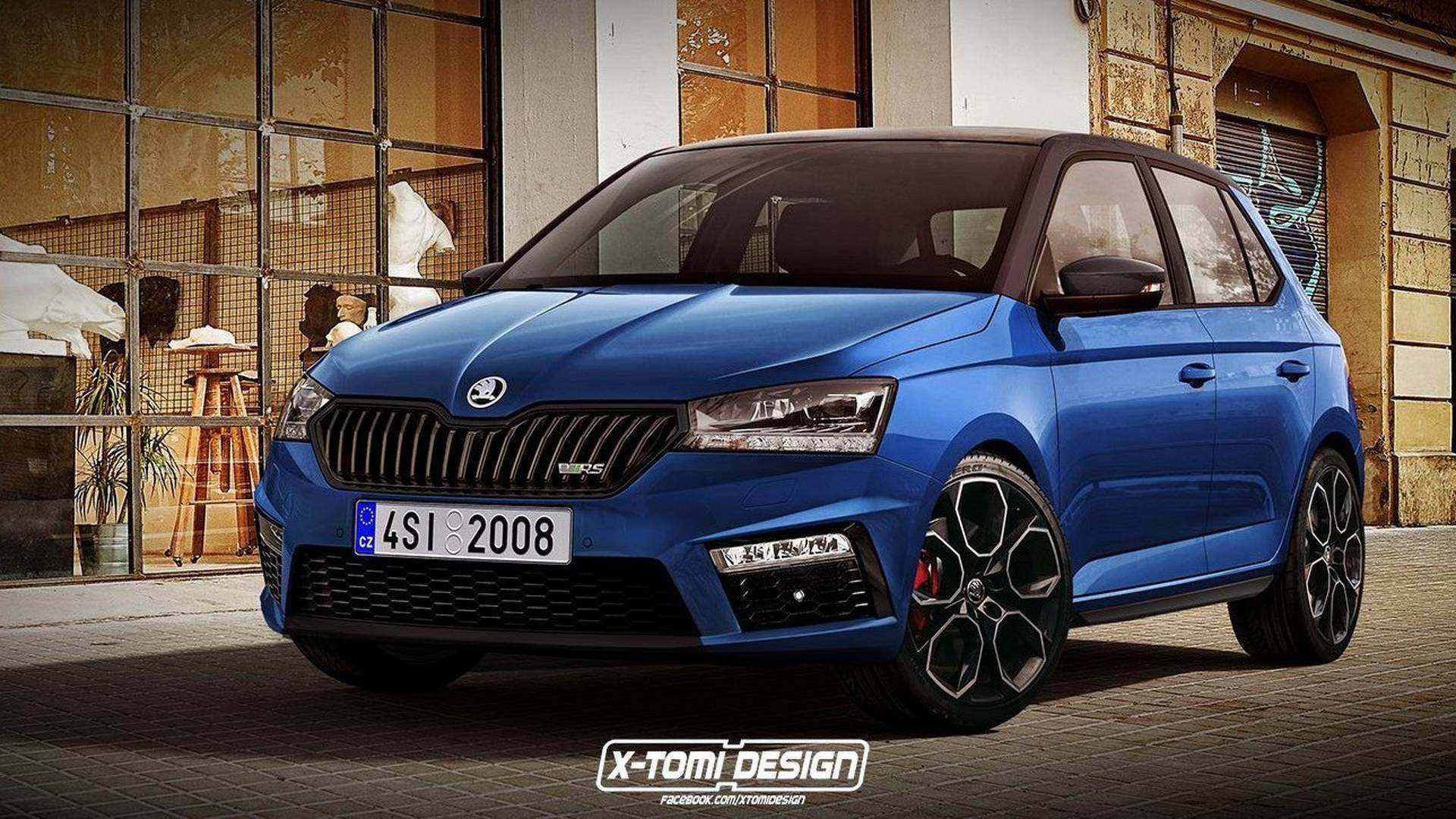 69 A 2020 Skoda Fabia Pictures