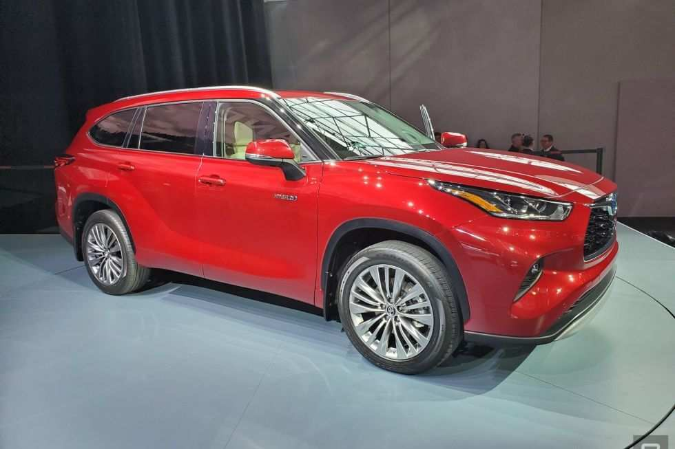 69 Best 2020 Toyota Highlander Redesign