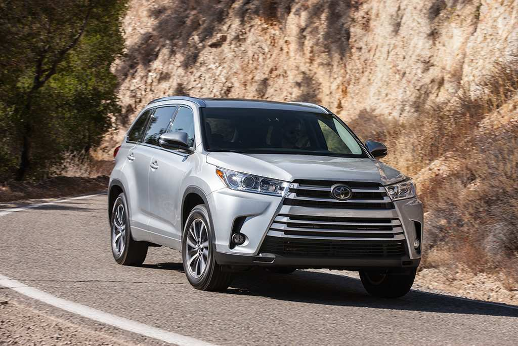 69 The 2019 Toyota Highlander Exterior
