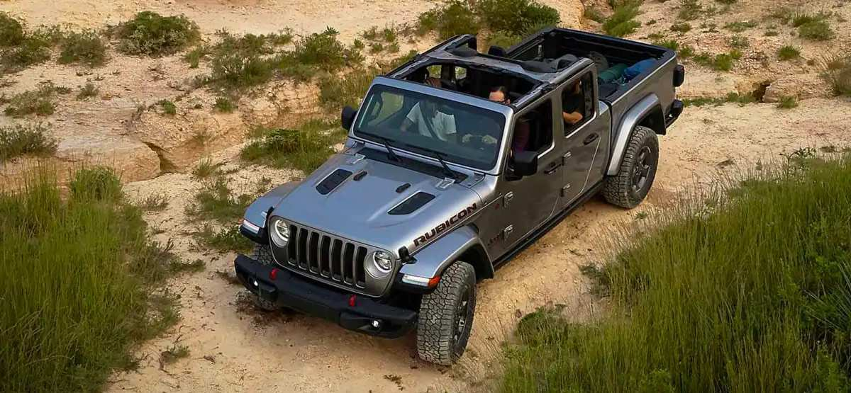 69 The 2020 Jeep Gladiator Exterior