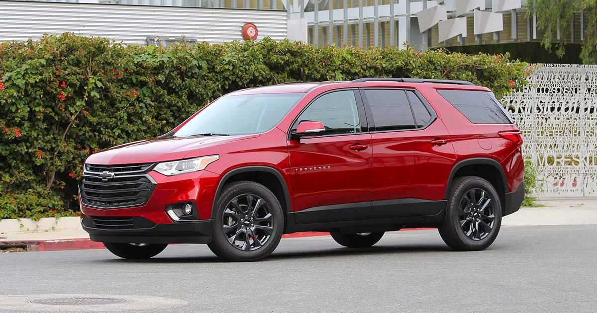 69 The Best 2019 Chevrolet Traverses Spy Shoot