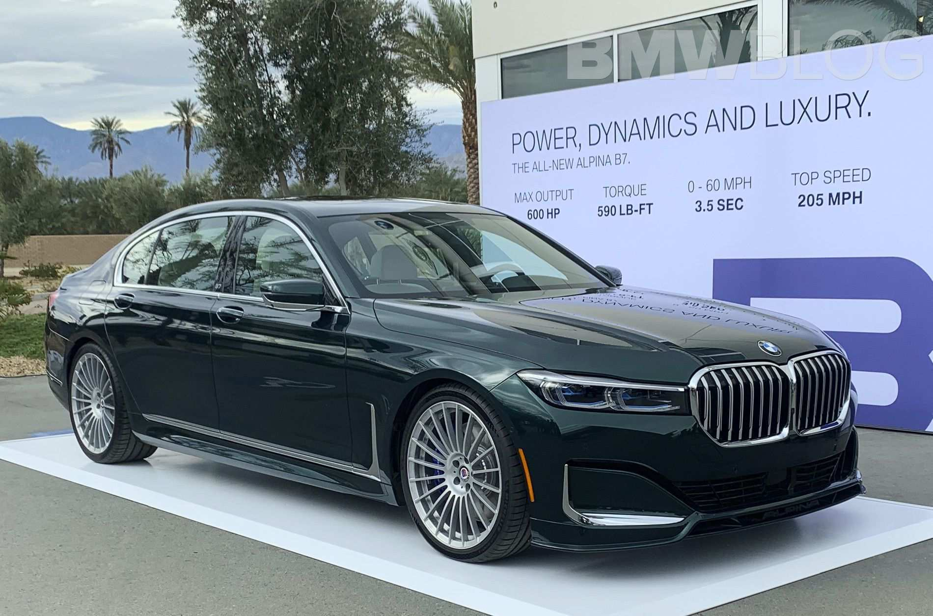 69 The Best BMW B7 Alpina 2020 New Model And Performance