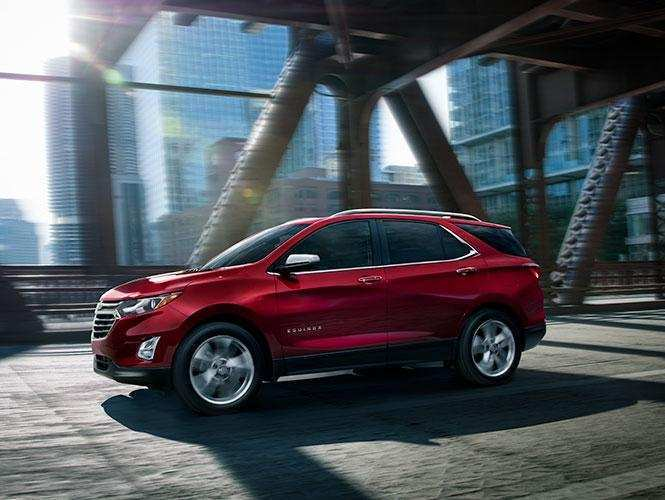70 A 2019 Chevy Equinox Spy Shoot
