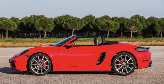 70 A 2019 Porsche Boxster S Exterior And Interior