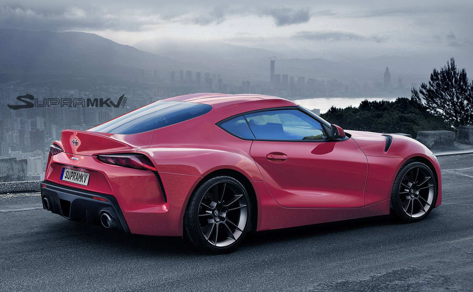 70 A 2019 Toyota Supra Style