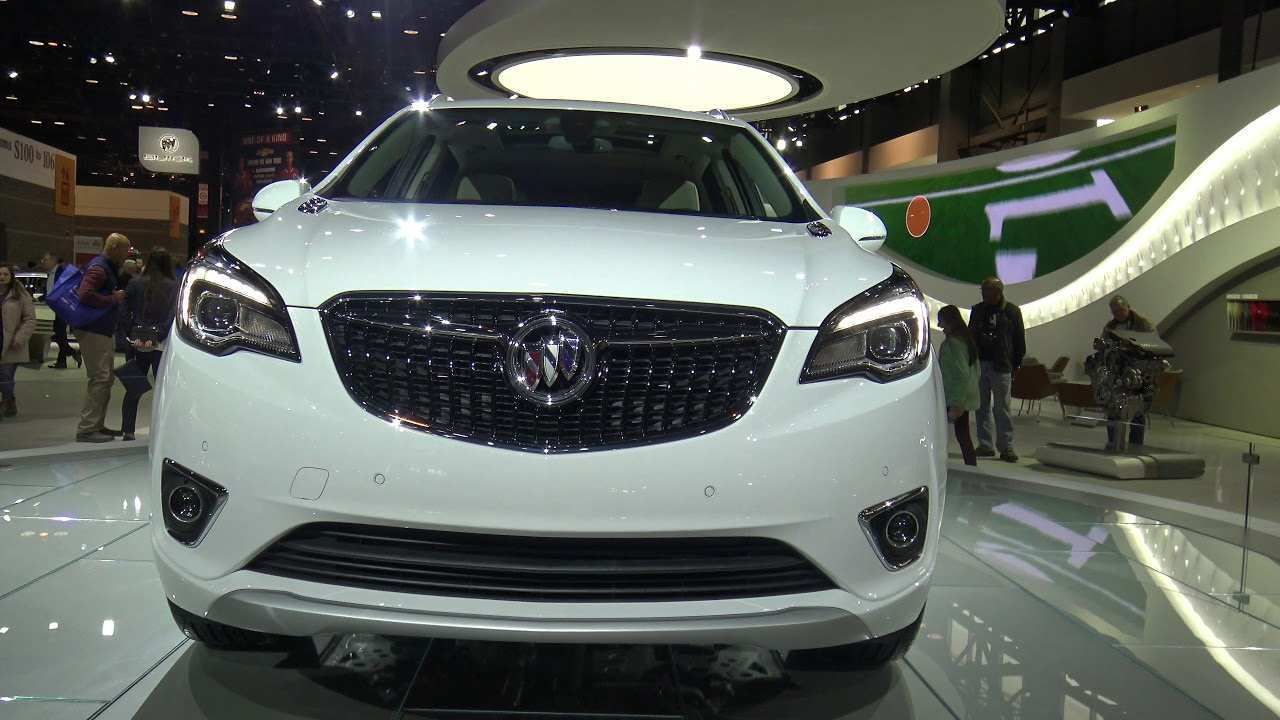 70 A 2020 Buick Envision Speed Test