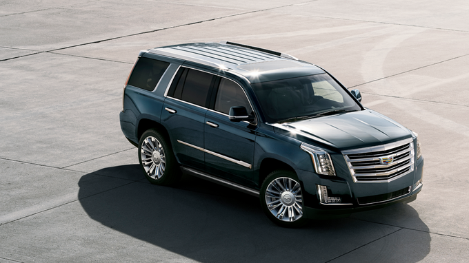 70 A 2020 Cadillac Escalade White Overview