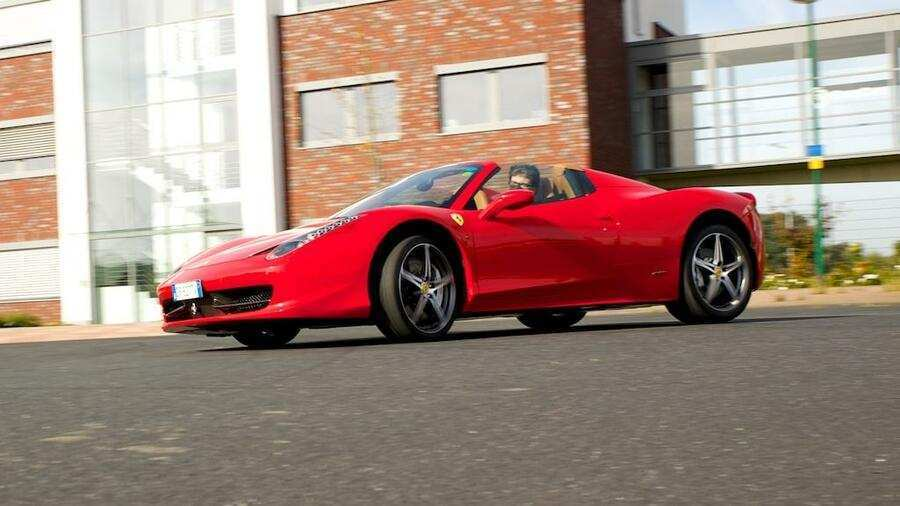 70 A 2020 Ferrari 458 Spider Speed Test