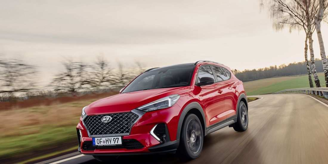70 A 2020 Hyundai Tucson N Line Reviews