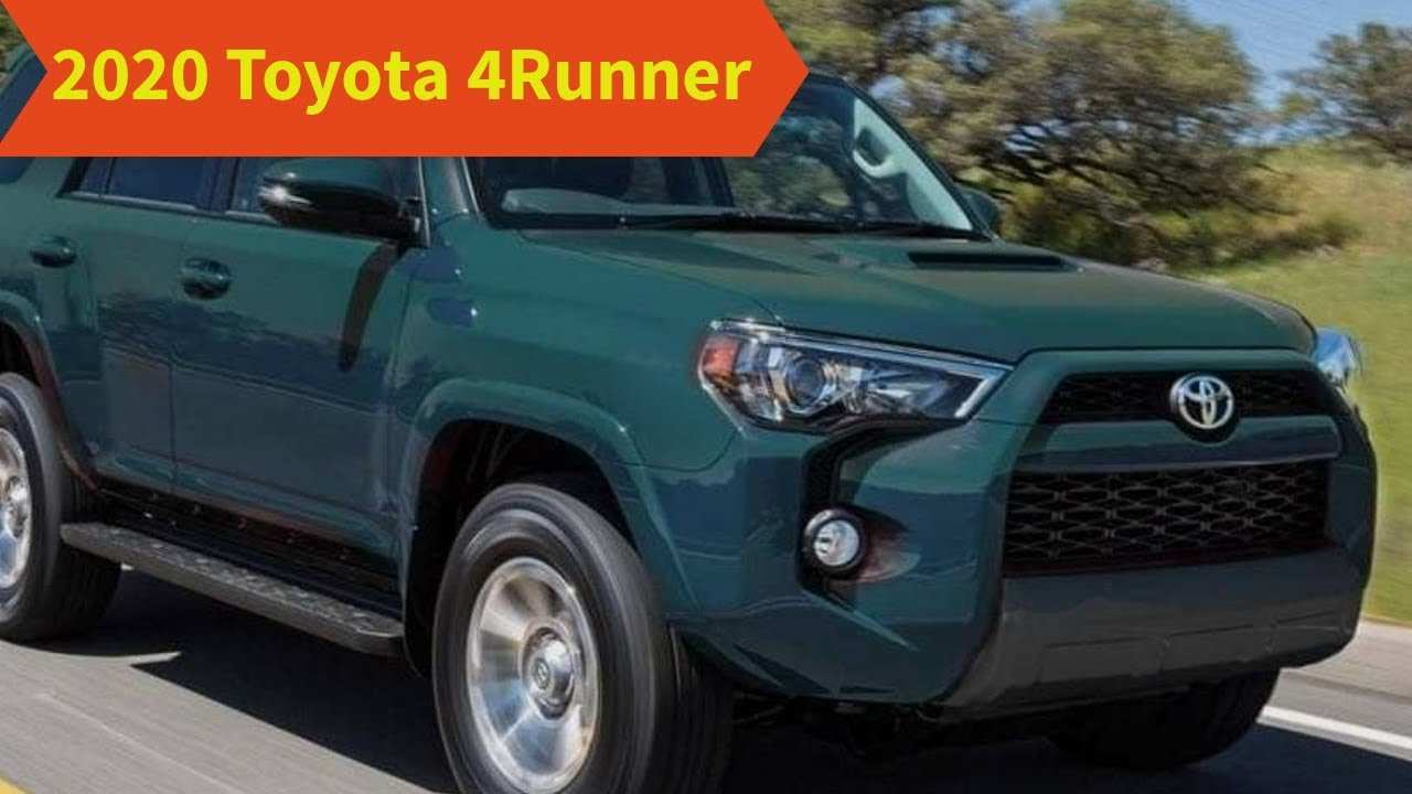 70 A 2020 Toyota 4Runner Redesign And Review