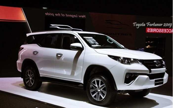70 A 2020 Toyota Fortuner Performance And New Engine