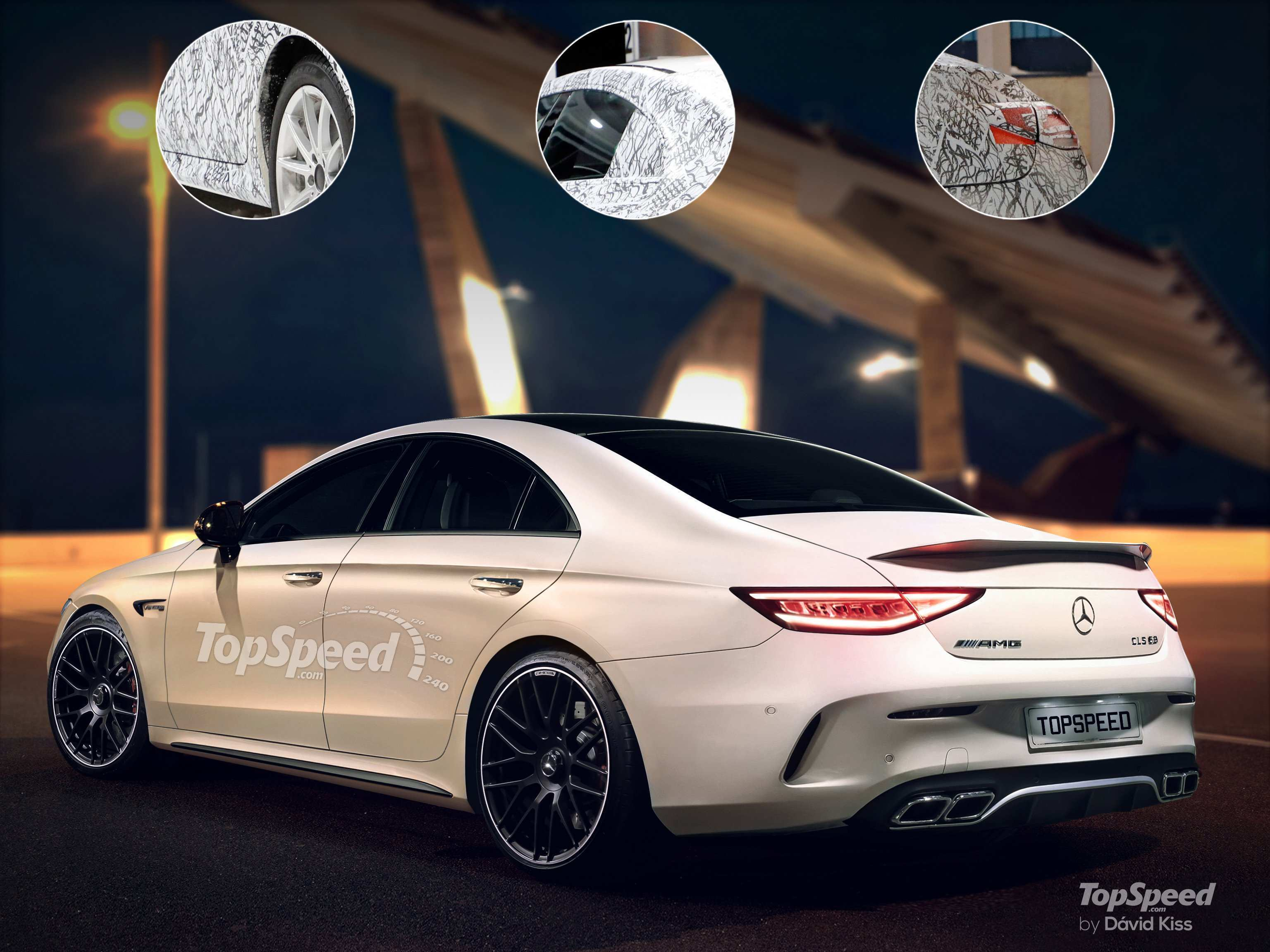 70 A Mercedes 2019 Cls Style