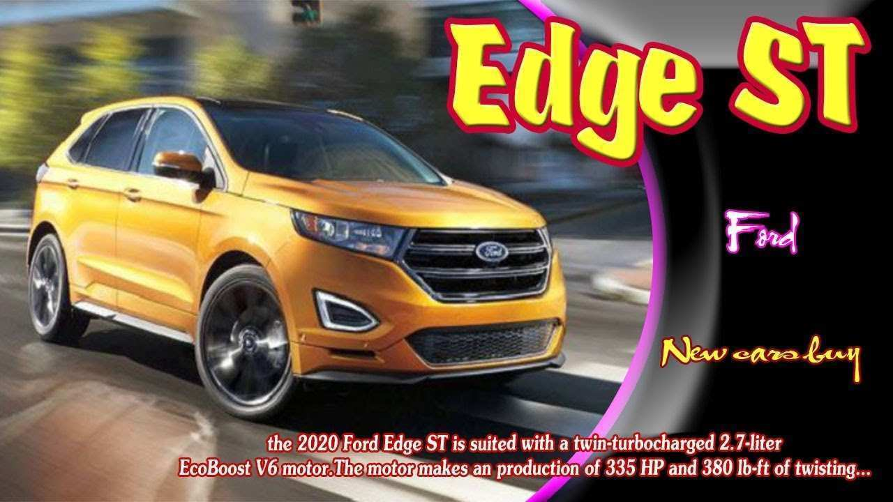 70 All New 2020 Ford Edge Sport Spy Shoot