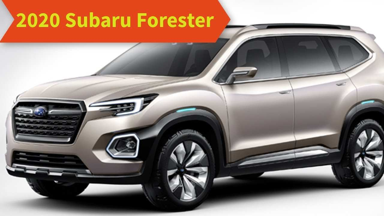 70 All New 2020 Subaru Forester Redesign Redesign And Concept