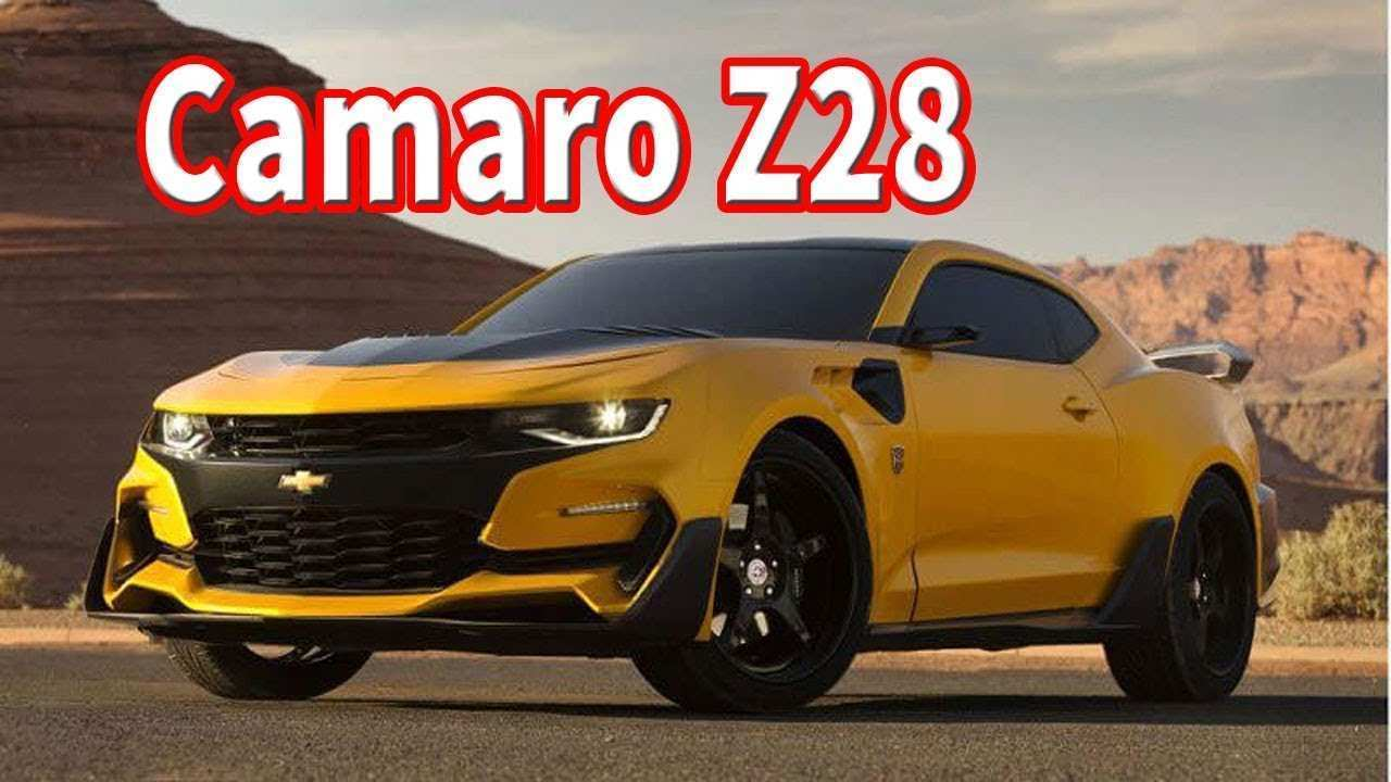 70 Best 2020 Chevrolet Camaro Z28 Price And Review