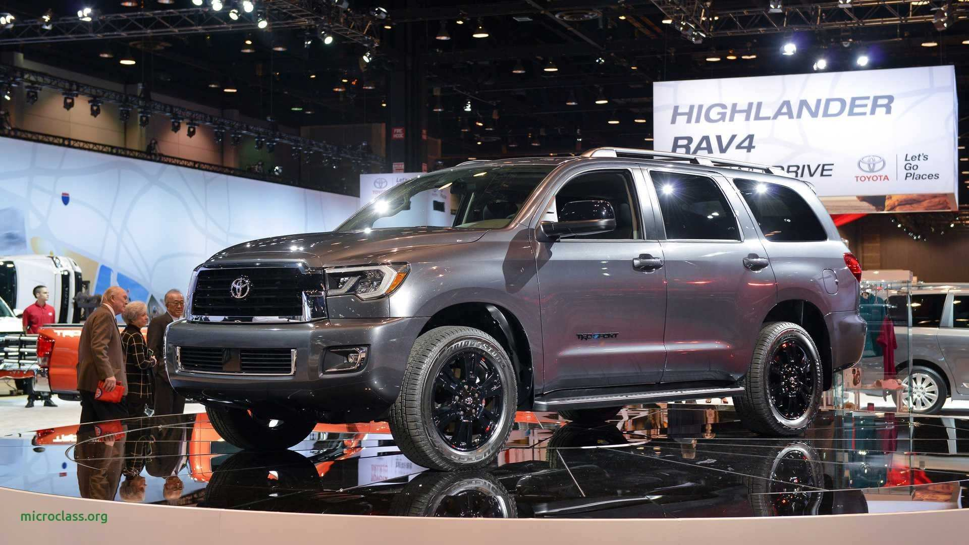 70 New Toyota Sequoia 2019 Redesign Interior