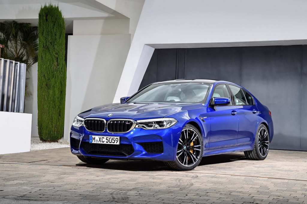 70 The 2020 BMW M5 Interior