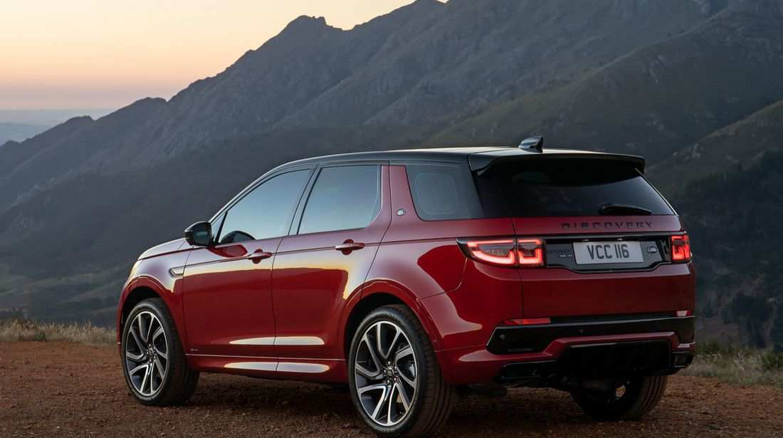 70 The 2020 Land Rover Discovery Sport Exterior