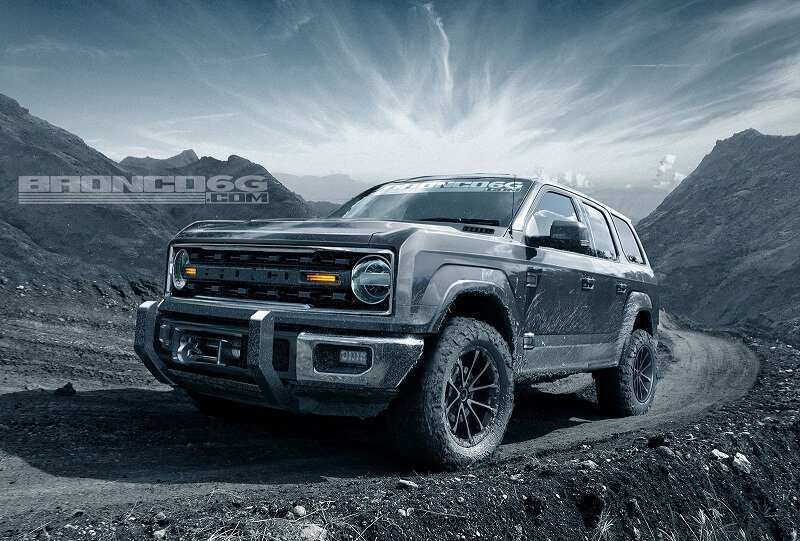 70 The Best 2020 Ford Svt Bronco Raptor Wallpaper
