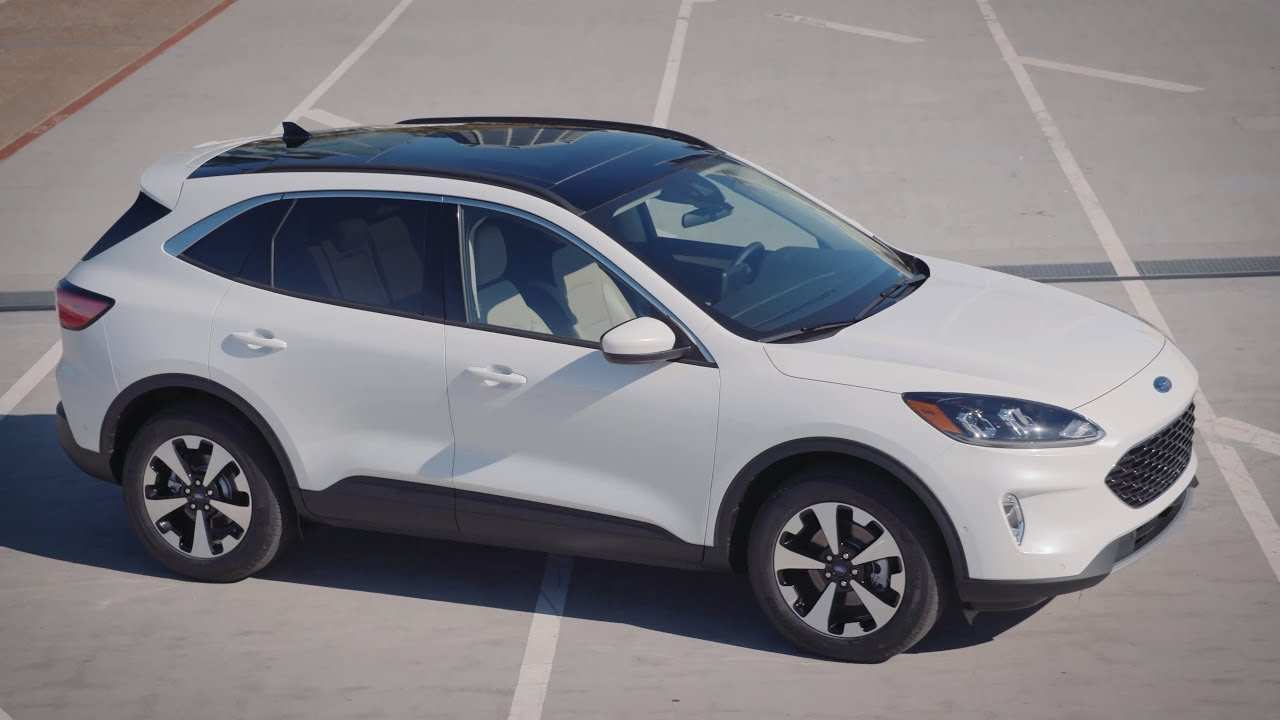 70 The Best Ford Hybrid Escape 2020 Interior