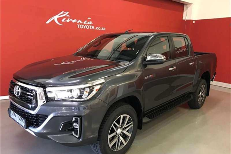 71 A 2019 Toyota Hilux Interior