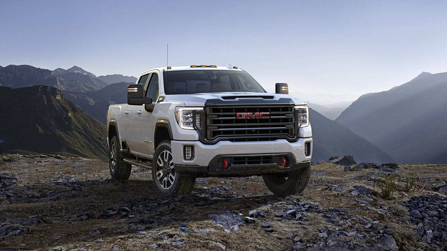 71 A 2019 Vs 2020 GMC Sierra Hd Picture